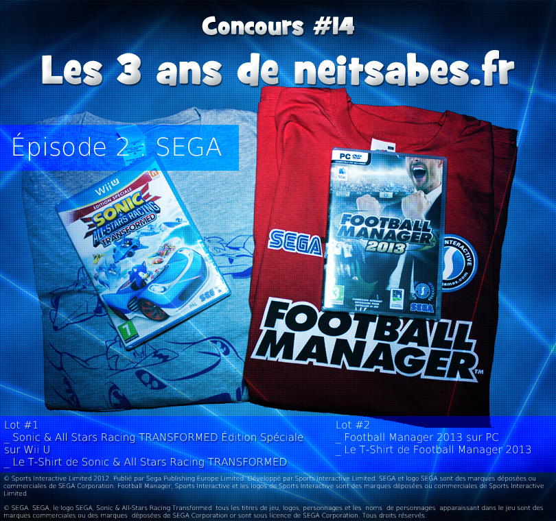 Concours #14 – Les 3 ans de neitsabes.fr, épisode 2.