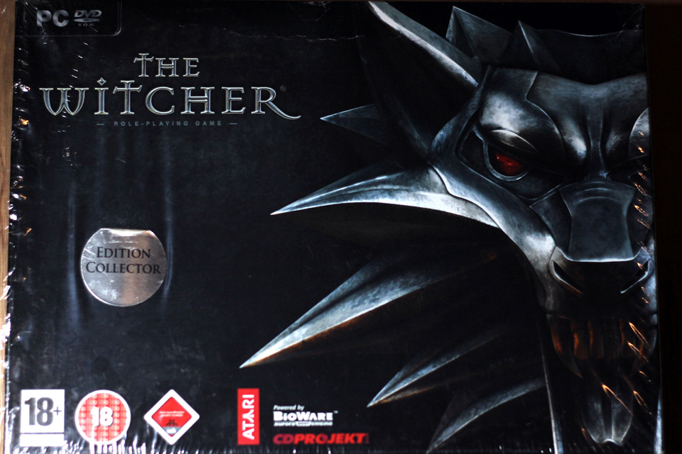 The Witcher Collector Edition (PC) (1)