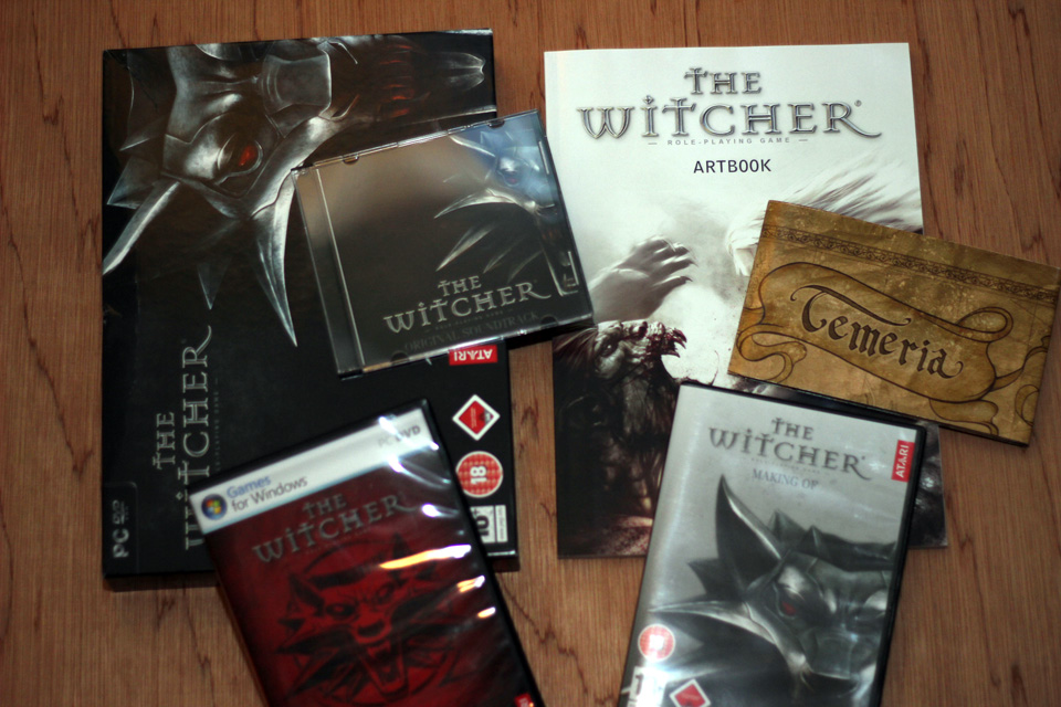 The Witcher Collector Edition (PC) (2)