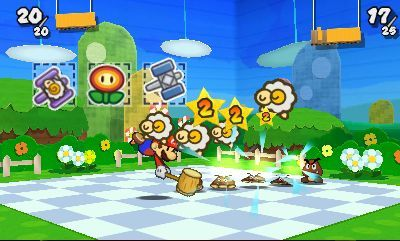 Test - Paper Mario Sticker Star (Nintendo 3DS)