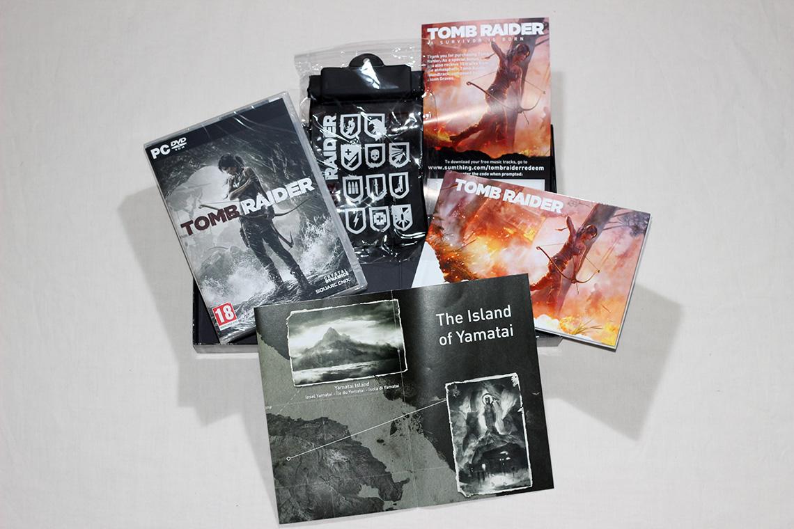 Déballage - Tomb Raider édition collector Survival Kit (PC) (11)