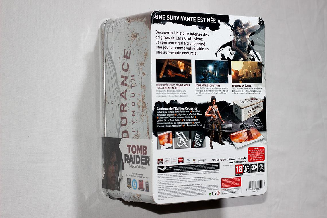 Déballage - Tomb Raider édition collector Survival Kit (PC) (2)