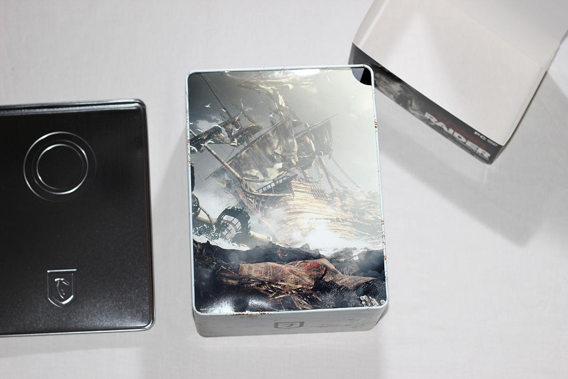 Déballage - Tomb Raider édition collector Survival Kit (PC) (3)