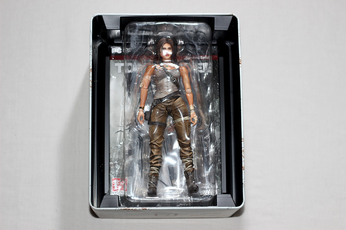 Déballage - Tomb Raider édition collector Survival Kit (PC) (4)
