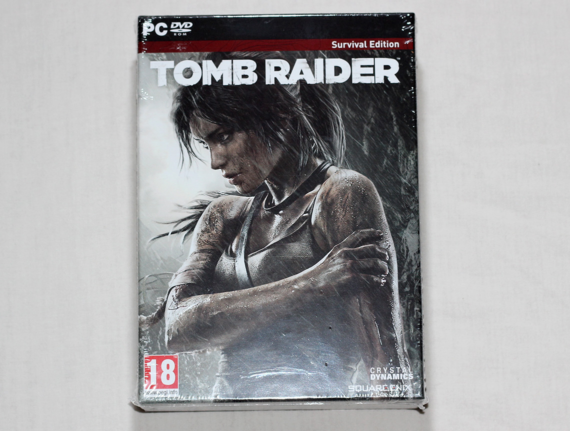 Déballage - Tomb Raider édition collector Survival Kit (PC) (8)