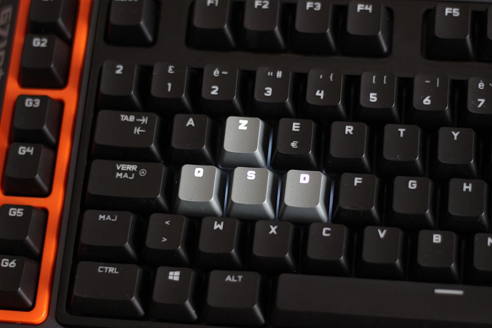 Présentation du clavier mécanique gamer de Logitech, le G710+ (4)