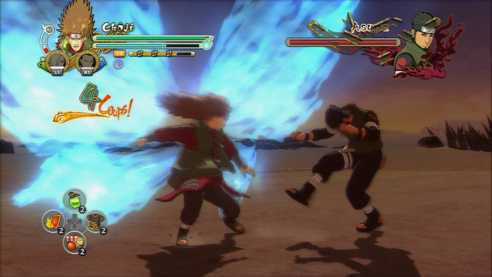 Test - Naruto Shippuden  Ultimate Ninja Storm 3 (PS3) (2)