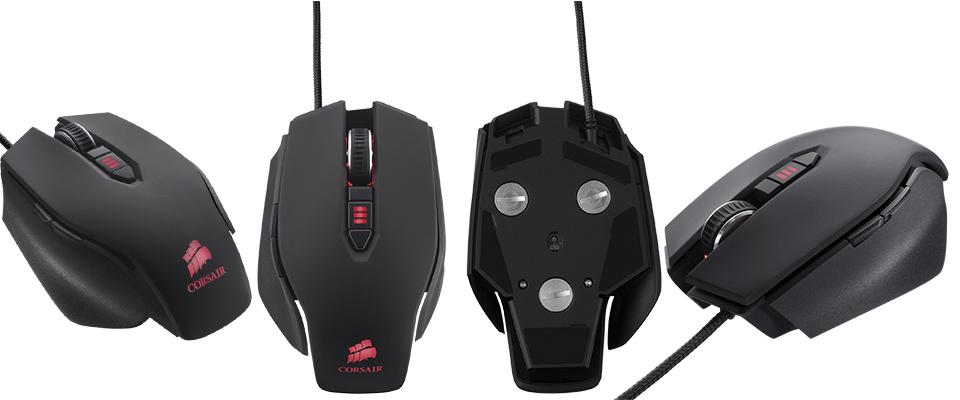 Computex 2013 Tapei  Les nouvelles souris et claviers gaming de Corsair. (2)