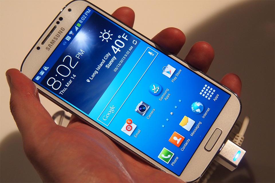 Mon avis sur le Samsung Galaxy S4.