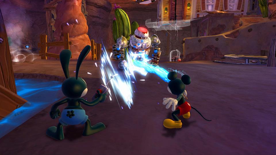Test Epic Mickey  le retour des héros. (2)