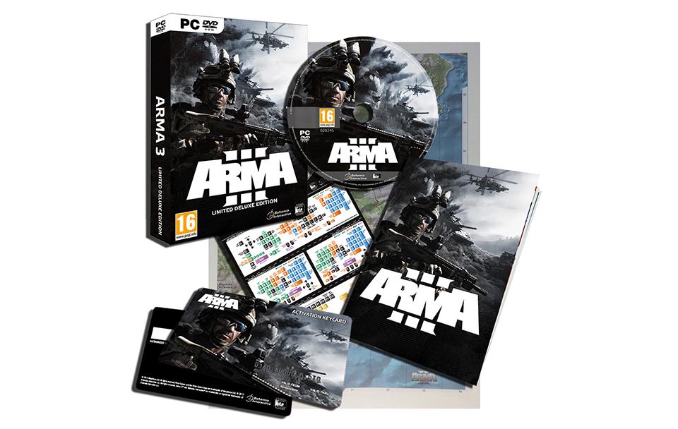 Arma III s'offre une édition limitée.