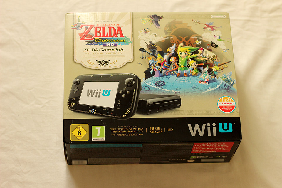 Déballage - Wii U Édition Limitée Zelda The Wind Waker HD (1)