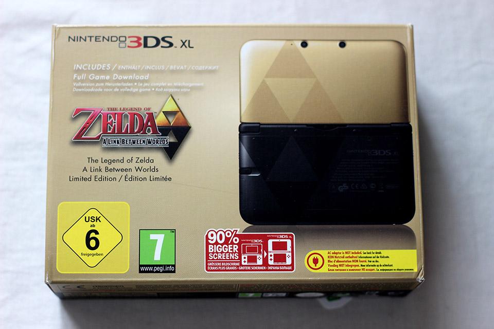 Achat - Nintendo 3DS Édition Limitée Zelda A Link Between Worlds (1)