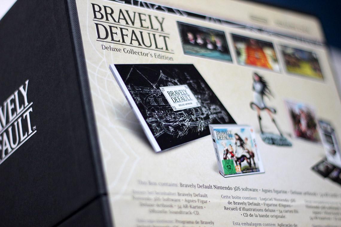 Déballage - Bravely Default Édition Collector (3DS) (1)