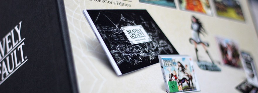 Déballage - Bravely Default Édition Collector (3DS) (1)