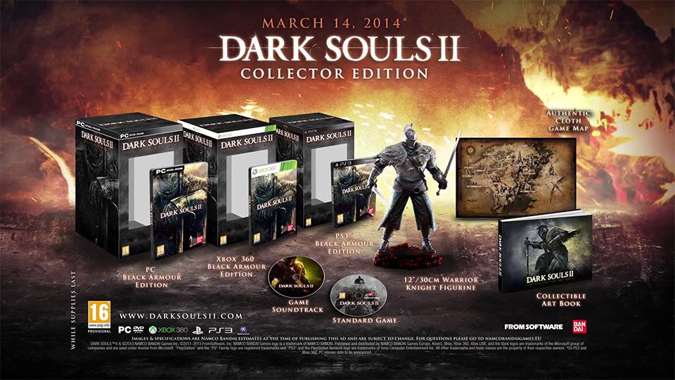 Pré-commande - Dark Souls 2 édition collector