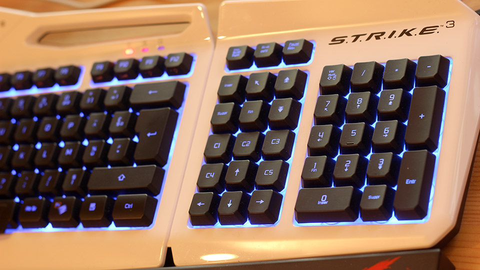 Test - Clavier MadCast S.T.R.I.K.E. 3