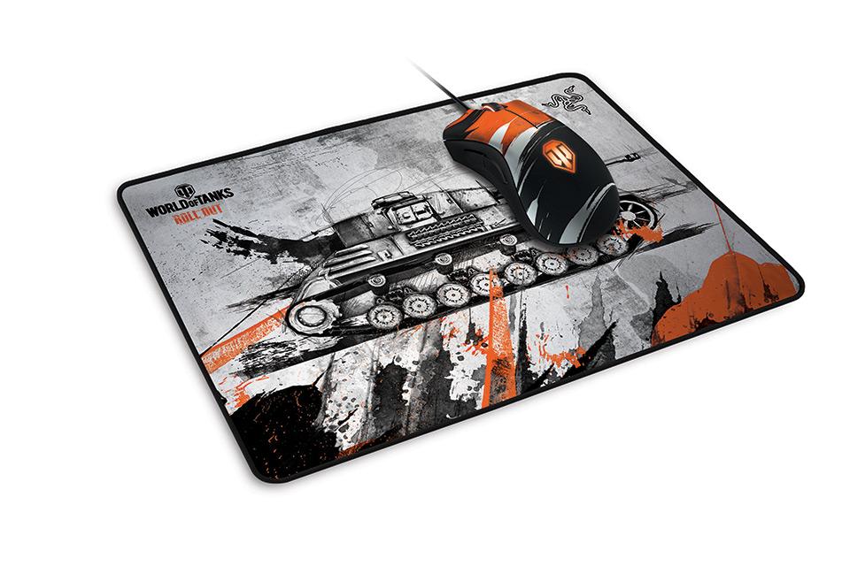 razer d voile sa souris et son tapis aux couleurs de world of tanks neitsabes. Black Bedroom Furniture Sets. Home Design Ideas