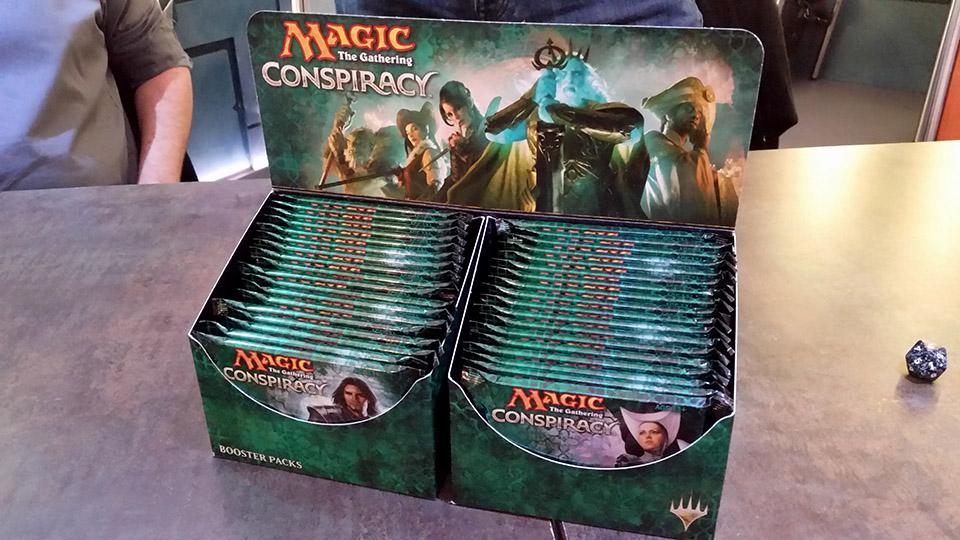 Magic Conspiracy  J'ai joué au nouveau format multi-joueur ! (1)