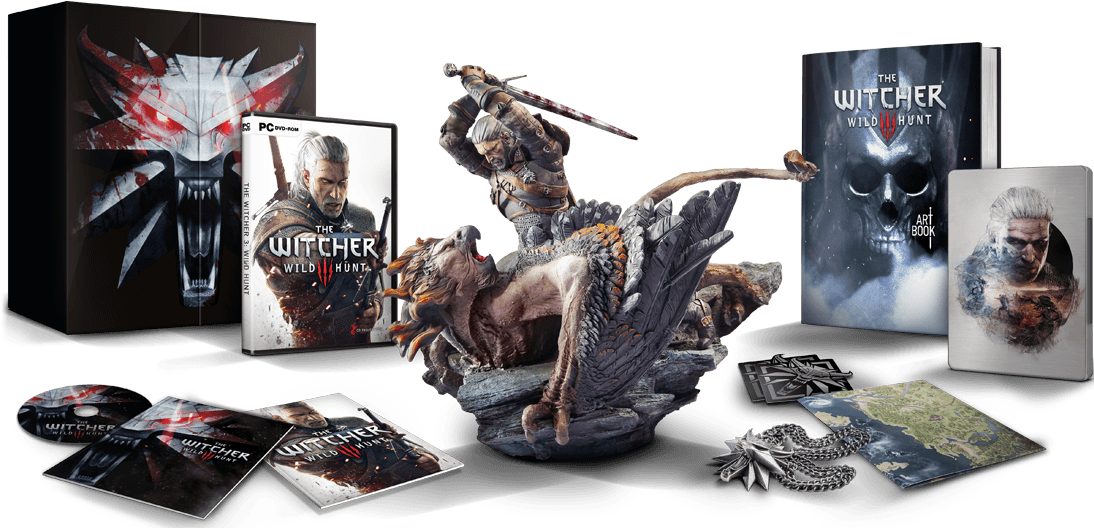 Précommande  The Witcher 3  Wild Hunt Édition Collector