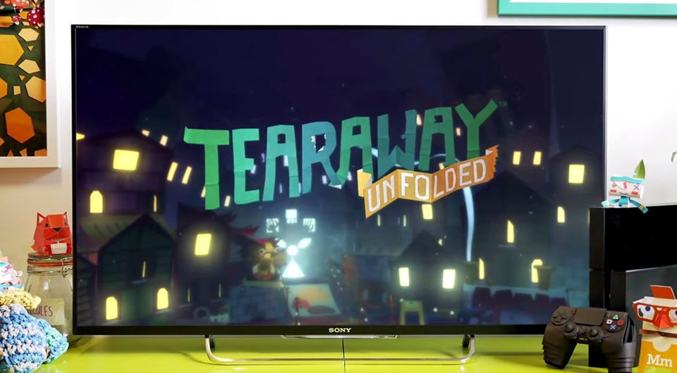 Tearaway Unfolded, annoncé sur Playstation 4