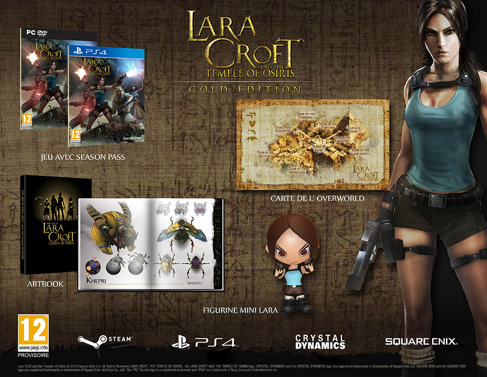 Une édition collector pour Lara Croft and The Temple of Osiris