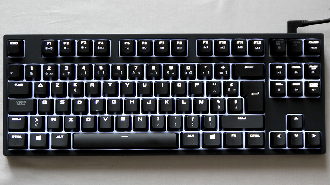 Test du clavier Cooler Master CMSTORM Quick Fire Rapid-i (2)