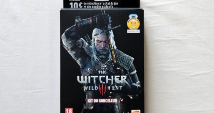 The Witcher 3 le kit du sorceleur chez Micromania - steelbook (1)