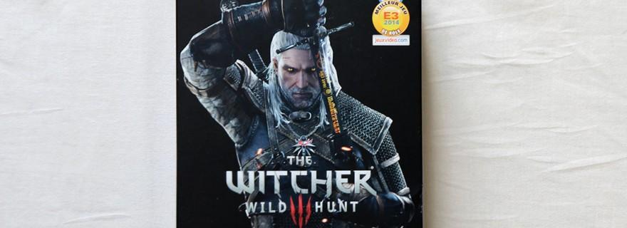 The Witcher 3 le kit du sorceleur chez Micromania - steelbook (1)
