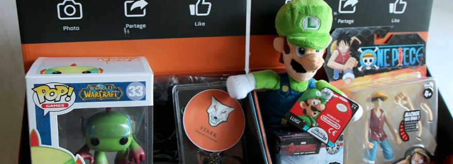 Découverte de la Wootbox la box 100 pour cent geek gaming (1)