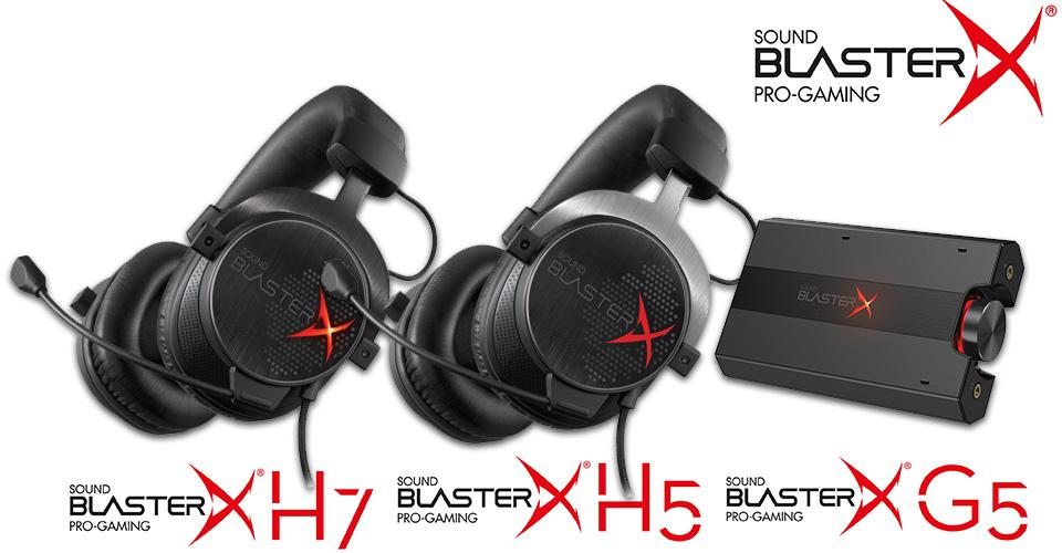 La future gamme Creative Sound Blaster X