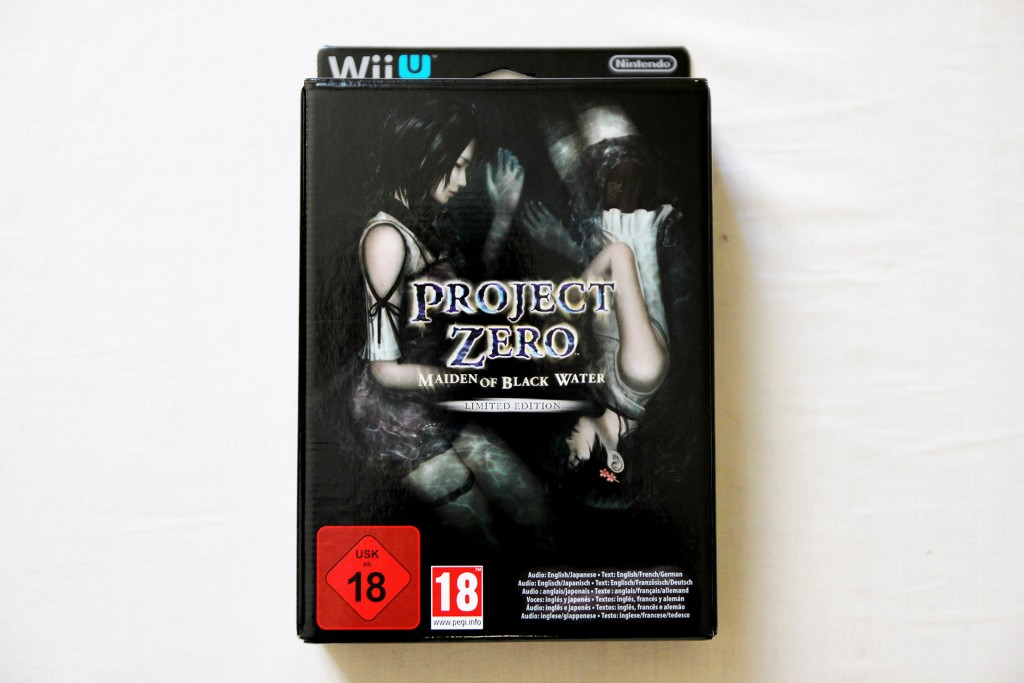 Déballage - Project Zero Maiden of Black Water (Wii U) (1)